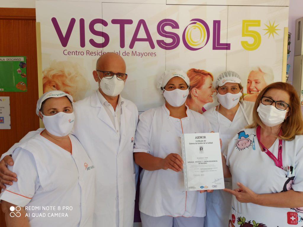 Certificado calidad Servalia